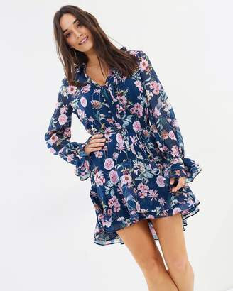 Cooper St Rita Long Sleeve Mini Dress