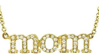 Jennifer Meyer Diamond Mom Necklace - Yellow Gold