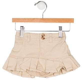 Ralph Lauren Girls' Pleated Three Pockets Skirt