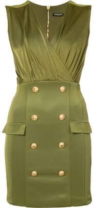 Balmain military cocktail dress