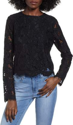 WAYF Erin Lace Top