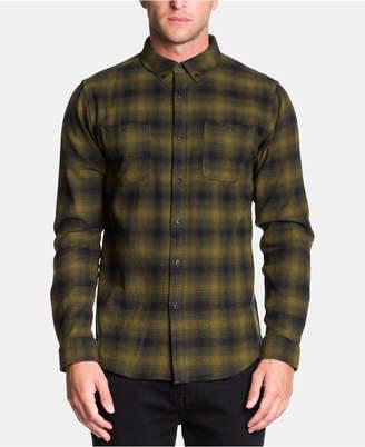 Ezekiel Men Lay Low Woven Plaid Shirt