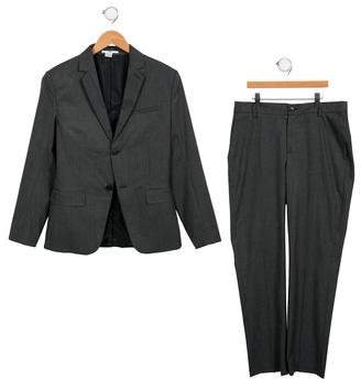 HUGO BOSS Boss by Boys' Notch- Lapel Pant Suit