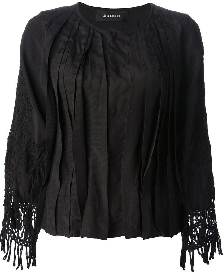 Zucca crochet sleeve blouse