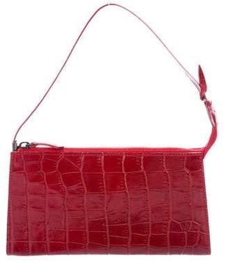 Max Mara Embossed Mini Handle Bag