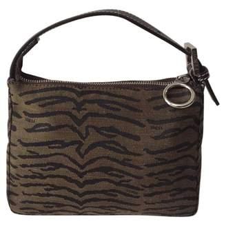 Fendi Brown Cotton Handbag