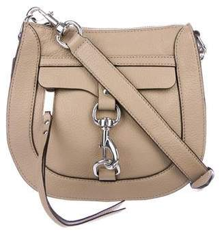 Rebecca Minkoff Leather Saddle Crossbody Bag