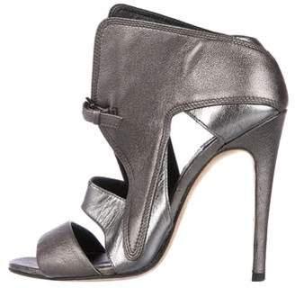 Camilla Skovgaard Metallic Caged Sandals