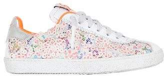 Momino Sequined Nappa Leather Sneakers