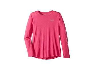 Vineyard Vines Kids Long Sleeve Slub Whale T-Shirt (Toddler/Little Kids/Big Kids)