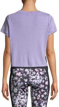 Splendid Studio Core Cropped Boxy Active Tee