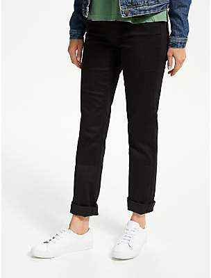 Lee Marion High Rise Straight Leg Jeans, Black Rinse
