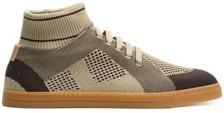 Fendi technical knit slip-on sneakers