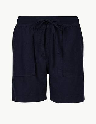 Marks and Spencer Linen Rich Chino Shorts