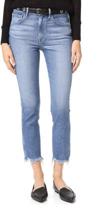 3x1 W3 Straight Authentic Crop Jeans $245 thestylecure.com