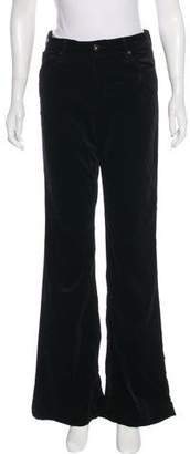 Adriano Goldschmied Velvet High-Rise Pants