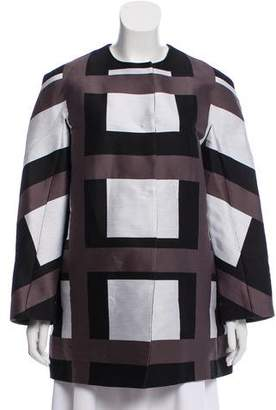 Narciso Rodriguez Long Sleeve Printed Jacket