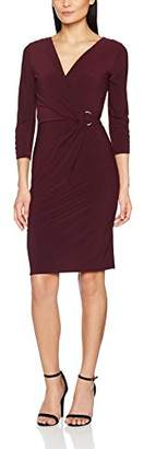 Womens C-Ring Wrap Party Dress Wallis