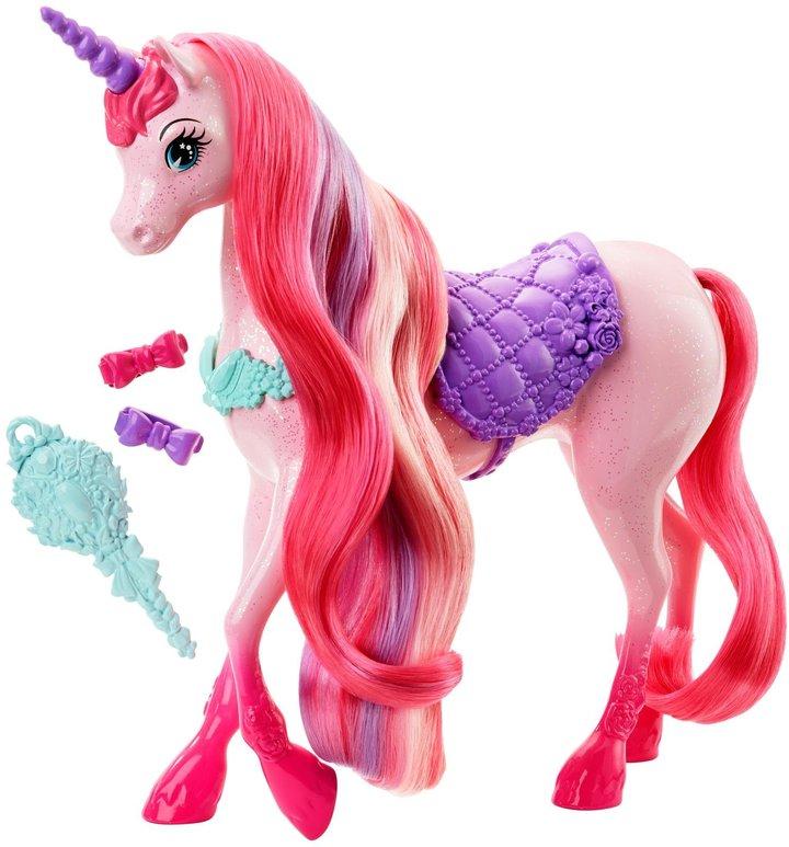 Barbie Fairytale Endless Hair Kingdom Unicorn Doll