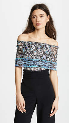Fuzzi Off Shoulder Blouse