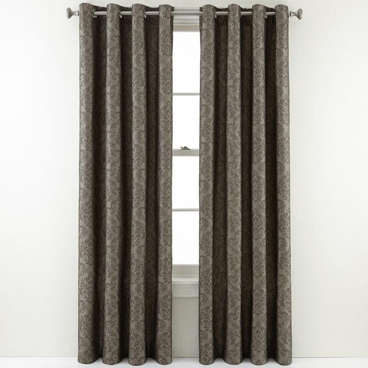 Royal Velvet Weston Grommet-Top Curtain Panel