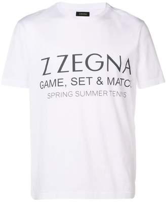 Ermenegildo Zegna printed T-shirt