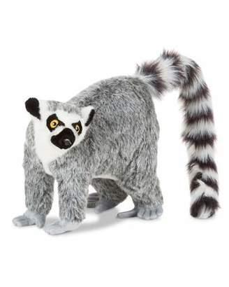 Melissa & Doug Standing Stuffed Plush Lifelike Lemur