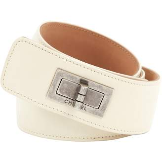 e766d0f8a0 White Leather Belts For Women - ShopStyle UK