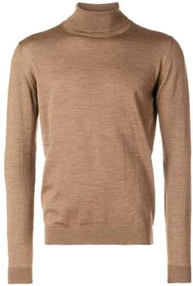 Roberto Collina turtleneck fine knit sweater
