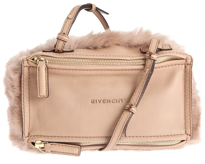 Givenchy 'Pandora' mini fur cross-body bag