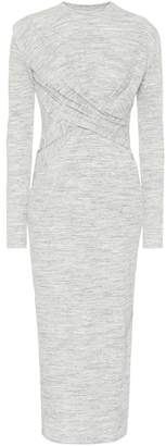 Victoria Beckham Victoria Stretch-jersey midi dress