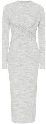 Victoria Victoria Beckham Stretch-jersey midi dress