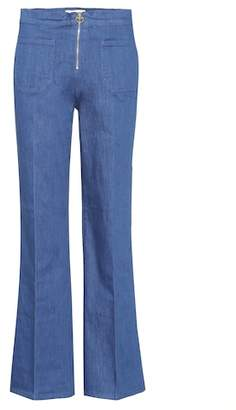 Tory Burch Luisa flared jeans