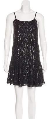 Needle & Thread Sequin-Embellished Mini Dress