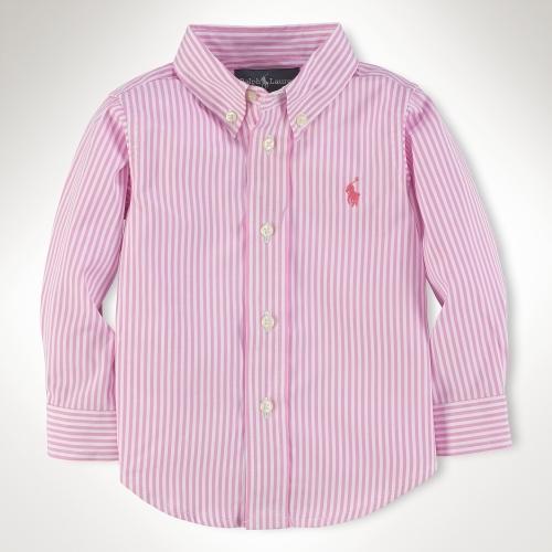 Custom-Fit Poplin Dress Shirt