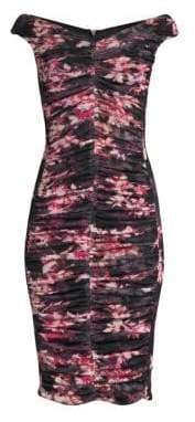 Black Halo Yasmin Sheath Dress