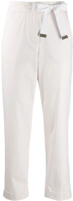 Peserico bow-tie trousers