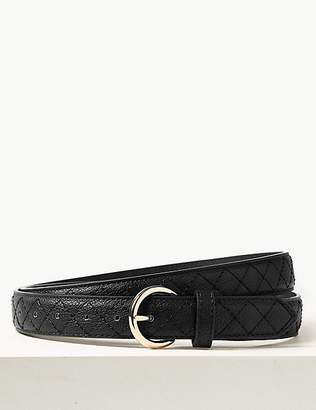 Marks and Spencer Faux Leather Hip Belt