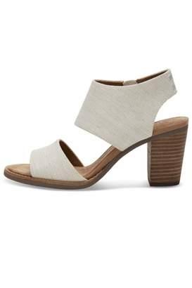 TOMS Majorca Cutout Sandals $89 thestylecure.com