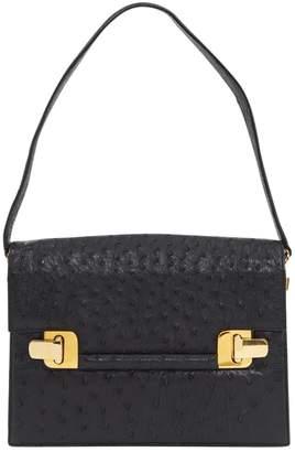 Couture Forte Black Ostrich Handbags