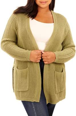 Wilson Rebel X Angels Split Side Ring Link Cardigan
