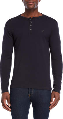 William Rast Booker Long Sleeve Henley Shirt