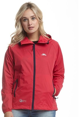 Trespass Womens Qikpac Waterproof Jacket Raspberry