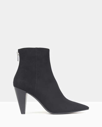 betts Noble Cone Heel Ankle Boots