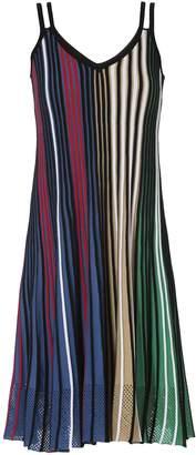 Kenzo Vertical Ribs Dress
