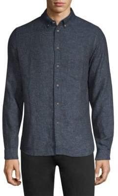 Levi's Linen-Cotton Button-Down Shirt