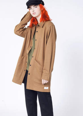 WildFang Muttonhead Winter Wool Camel Coat | Winter Outer Coat - CAMEL - XSMALL