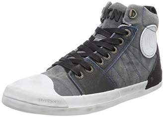 881ae8e8f34 Yellow Cab Men's Grind M Hi-Top Trainers Blue