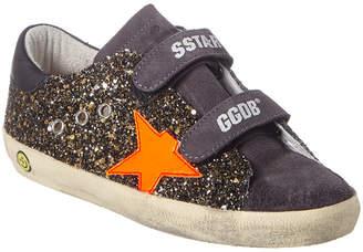 Golden Goose Old School Glitter Leather Sneaker