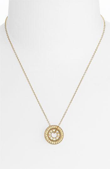 Anna Beck 'Lombok' Double Circle Pendant Necklace